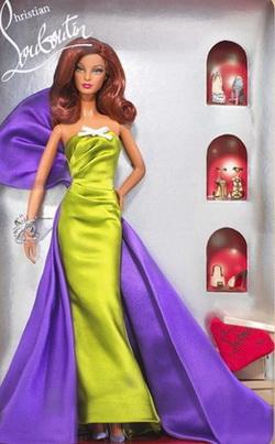 Модная Барби от Кристиана Лубутена