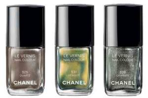 Дом Chanel представил осеннюю коллекцию лаков для ногтей