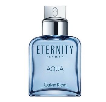 Eternity Aqua - острохарактерный свежий аромат для мужчин от Calvin Klein