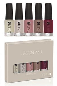 Модный дизайнер Джейсон Ву представит коллекцию лаков для ногтей