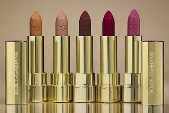 Коллекция помады The Roses от Dolce & Gabbana