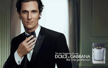 Мэттью МакКонахи стал лицом нового парфюма Dolce&Gabbana