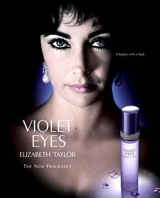 «Фиалковые глаза» - аромат от Элизабет Тейлор