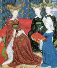 женская мода средние века эволюция моды