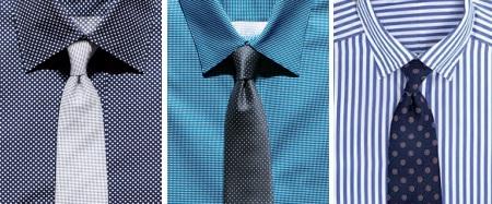 к какой галстук к черной рубашке фото