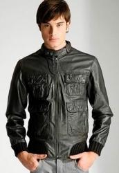 Кожаные куртки весна лето 2012 года