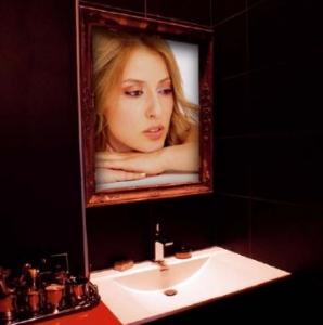 Телевизор-зеркало от французского бренда Agath
