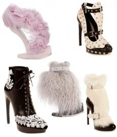 Обувная коллекция осень/зима 2012-2013 от Alexander McQueen