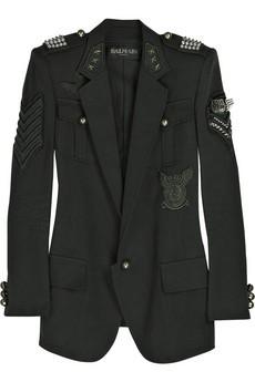 «Военный» пиджак от Balmain