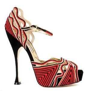Туфли Geometric Heels: настоящая зимняя обувь