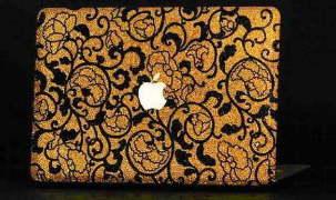 Golden Age – золотой ноутбук с кристаллами Swarovski