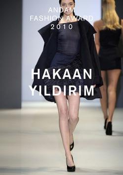 Дизайнер Хакан Илдирим получим премию ANDAM 2010