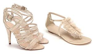 Модный бренд Loeffler Randall представил коллекцию свадебной обуви
