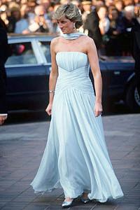 Коллекция платьев принцессы Дианы ушла с молотка