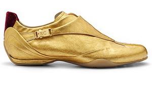 Roberto Coin представляет позолоченные туфли