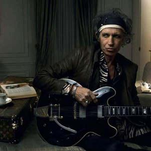 Участник группы Rolling Stones Кит Ричардс стал лицом Louis Vuitton