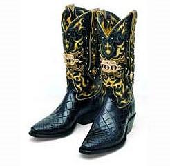 Ковбойские сапоги El Rey IV стоимостью 50 тысяч долларов