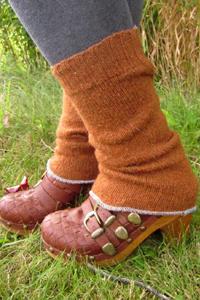 Ботинки с гетрами фото