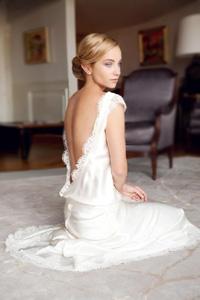 Свадебное платье с открытой спиной: настрой на эксперимент