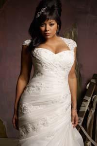 модные советы для полных невест как выбрать свадебное платье
