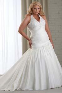свадебная мода для полных как выбрать платье большого размера