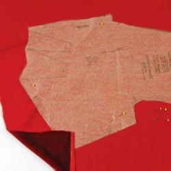 как правильно шить из бархата