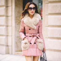 Женские кожаные пуховики: познакомьтесь с новым трендом