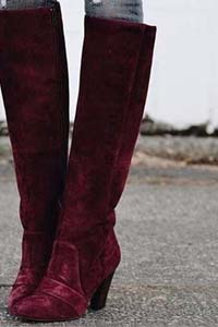 С чем носить замшевые сапоги: спасение для вашего гардероба