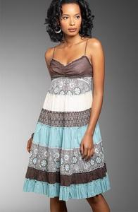 Открытое платье - актуальный летний тренд