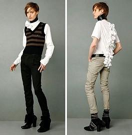 Молодежная мода 2009 2010 унисекс