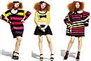 Трикотажные платья: яркие стили зимы