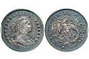 Ранние монеты в двадцать пять центов: история чеканки