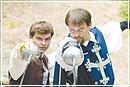 Историческое фехтование – это вам покруче пейнтбола!
