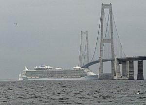 Самый большой в мире круизный лайнер будет спущен на воду в конце ноября