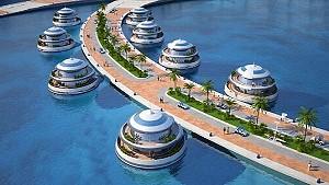 Первый полуподводный отель откроется в Катаре