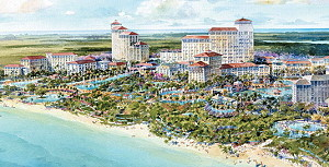 Китай вкладывает в курорт на Багамах 2,6 миллиарда долларов
