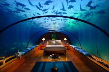 Подводный ресторан превратится в подводный отель