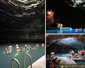 Crater на курорте Homestead Resort, Юта - один из самых удивительных бассейнов на планете