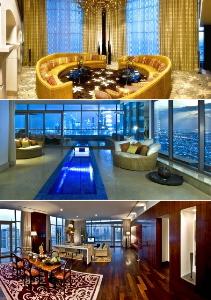 Самый лучший в мире номер-люкс в отеле Monarch Dubai