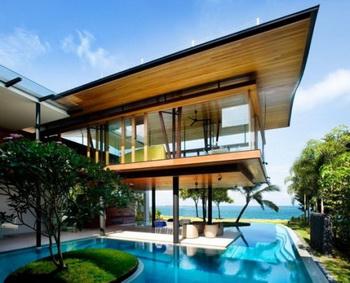 Fish House от Guz Architect - экологичный «люкс» для жарких тропиков