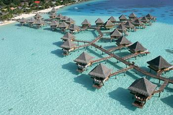 Прекрасный отдых на Intercontinental Bora Bora