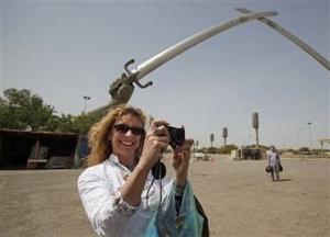 Первые западные туристы посетили Ирак