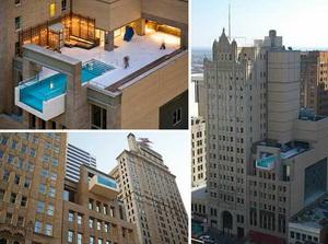 Отель Joule Hotel в Далласе предложит своим гостям один из самых удивительных бассейнов в мире