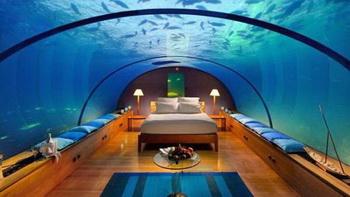 Conrad Rangali Island - мальдивский рай под водой