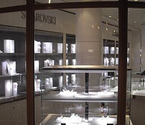 Компания Swarovski открывает свой первый бутик на круизном лайнере