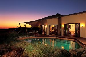 Роскошный оазис в центре пустыни: курорт Al Maha