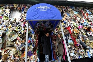В Мадриде открылся отель из мусора