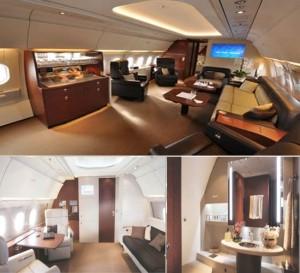 Новый салон для частных самолетов Airbus ACJ 318