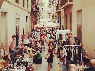 торговые зоны Барселоны