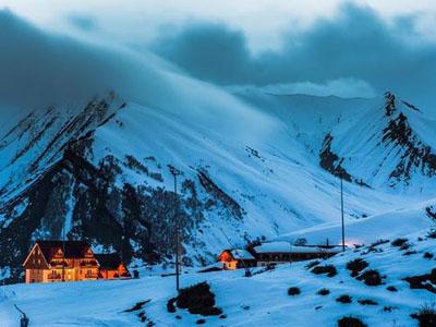 лучшие горнолыжные курорты Грузии Гудаури